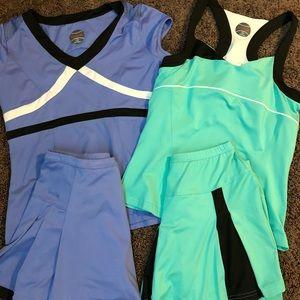 EUC Bolle women's tennis skirt bundle!